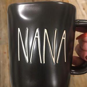 Brand New Rae Dunn 🔥Nana Black Mug 🔥